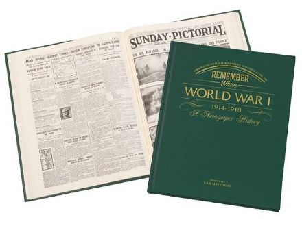 World War One - Newspaper Book